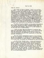 Letter from Benjamin M. Schowe to Powrie V. Doctor, May 16, 1943