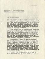 Letter from Benjamin M. Schowe to A.L. Roberts, April 30, 1940
