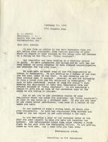 Letter from the Committee on W.P.A. Employment to A.R. Norris, February 14, 1940