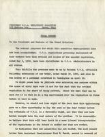 Final Report of the Temporary W.P.A. Employment Committee, May 15, 1940