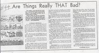 Are Things Really THAT Bad? (Akron Beacon Journal, May 23, 1971)