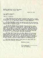 Letter from the Special Committee on W.P.A. Employment to August Valentine, March 28, 1940