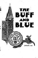 The Buff and Blue: Vol. 21, no. 4 (1913: Jan.)