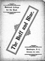 The Buff and Blue: Vol. 1, no. 3  (1893: Jan. 20)
