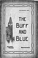The Buff and Blue: Vol. 9, no. 3 (1900: Dec.)
