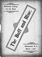 The Buff and Blue: Vol. 1, no. 4 (1893: Mar. 1)