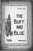 The Buff and Blue: Vol. 9, no. 4 (1901: Jan.)