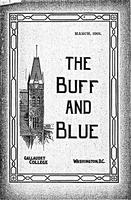 The Buff and Blue: Vol. 9, no. 6 (1901: Mar.)