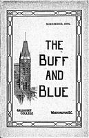 The Buff and Blue: Vol. 10, no. 2 (1901: Nov.)