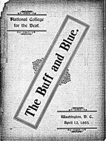 The Buff and Blue: Vol. 1, no. 5 (1893: Apr. 12)