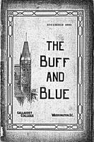 The Buff and Blue: Vol. 9, no. 2 (1900: Nov.)