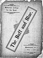 The Buff and Blue: Vol. 1, no. 6 (1893: Jun. 1)