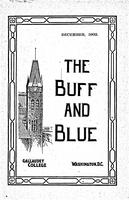 The Buff and Blue: Vol. 11, no. 3 (1902: Dec.)