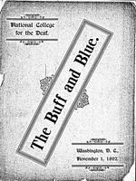 The Buff and Blue: Vol. 1, no. 1 (1892: Nov. 1)