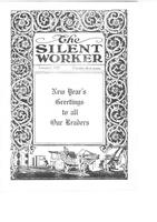 The Silent Worker vol. 34 no. 4