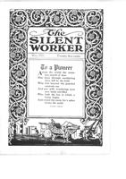 The Silent Worker vol. 34 no. 8