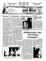 The Buff and Blue: Vol. 92, no. 16 (1985: Mar. 1)