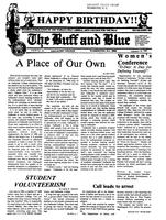 The Buff and Blue: Vol. 92, no. 14 (1985: Feb. 15)