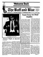 The Buff and Blue: Vol. 92, no. 11 (1985: Jan. 25)