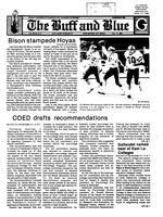 The Buff and Blue: Vol. 95, no. 5 (1987: Oct. 17)