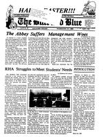 The Buff and Blue: Vol. 92, no. 20 (1985: Apr. 5)