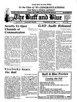 The Buff and Blue: Vol. 92, no. 24 (1985: May 3)