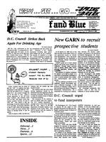 The Buff and Blue: Vol. 92, no. 17 (1985: Mar. 8)
