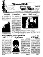 The Buff and Blue: Vol. 92, no. 19 (1985: Mar. 29)