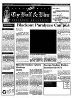 The Buff and Blue: Vol. 101, no. 3 (1992: Oct. 16)