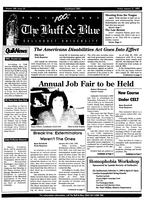 The Buff and Blue: Vol. 100, no. 10 (1992: Jan. 31)