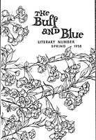 The Buff and Blue: Literary Number (1958: Spring)
