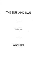 The Buff and Blue: Literary Number (1959: Winter)