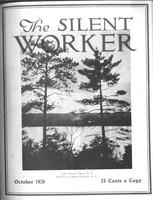 The Silent Worker vol. 39 no. 1