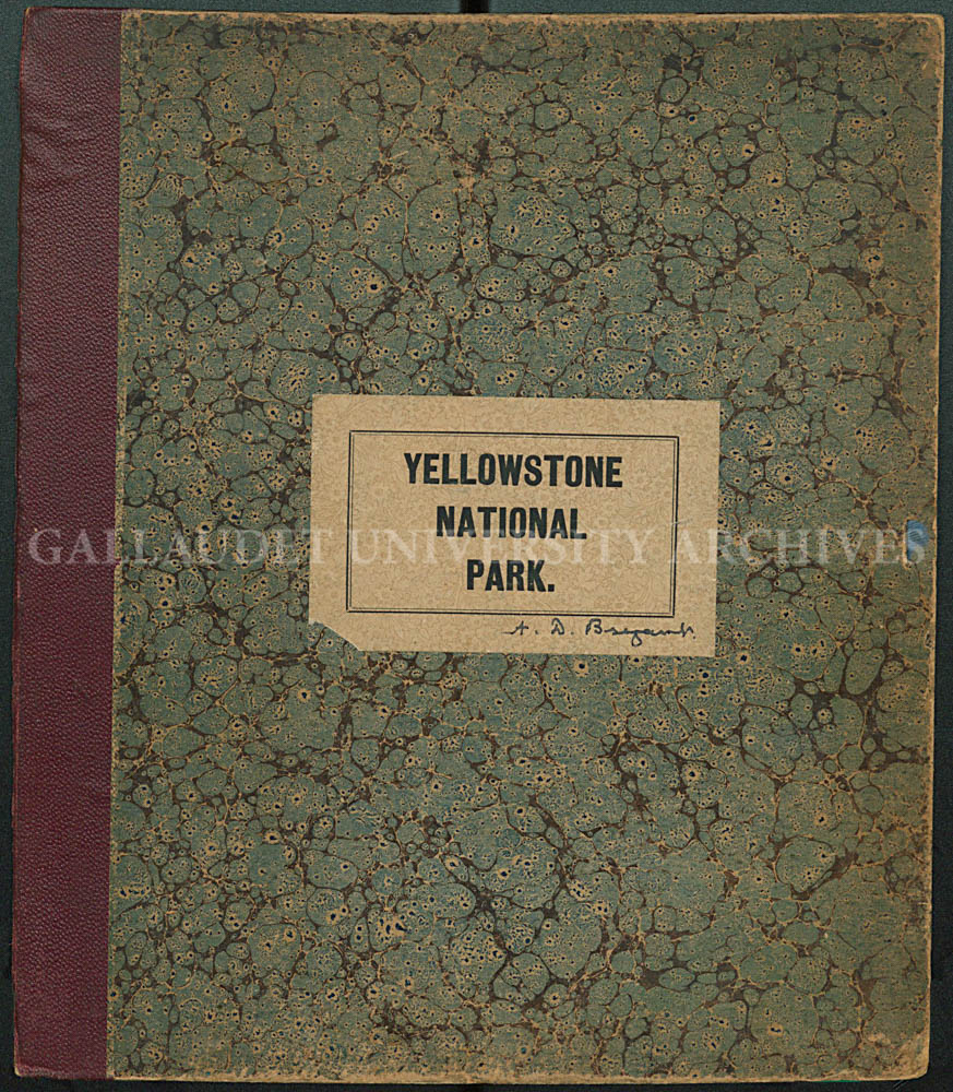 Arthur D. Bryant album from Yellowstone National Park, ca. 1880s (AL-173)