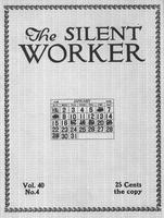 The Silent Worker vol. 40 no. 4