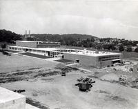 Hughes Memorial Gymnasium -- Construction (1950s) #2