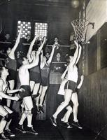 Basketball -- Actions (1950s)