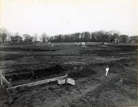 Hughes Memorial Gymnasium -- Construction (1956-1959) #4