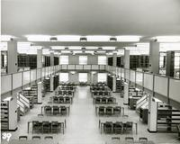 Edward Miner Gallaudet Memorial Library -- Interior (1950s)