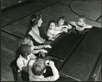 Alexander Graham Bell School, Piano class (1950)