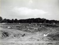 Hughes Memorial Gymnasium -- Construction (1956-1959) #5