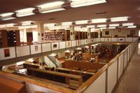 Edward Miner Gallaudet Memorial Library -- Interior (1972-1973) #12