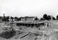 Hughes Memorial Gymnasium -- Construction (1956-1959) #6
