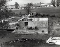 Washburn Arts Building -- Construction (1960s)