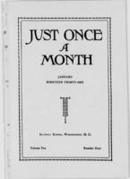 Just Once a Month, Vol. 10, No. 4