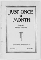 Just Once a Month, Vol. 10, N.o 5