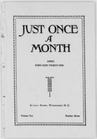 Just Once a Month, Vol. 10, No. 7