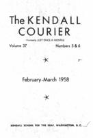The Kendall Courier, Vol. 37, Nos. 5&6