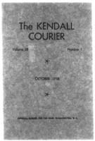 The Kendall Courier, Vol. 38, No. 1