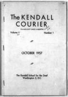 The Kendall Courier, Vol. 37, No. 1